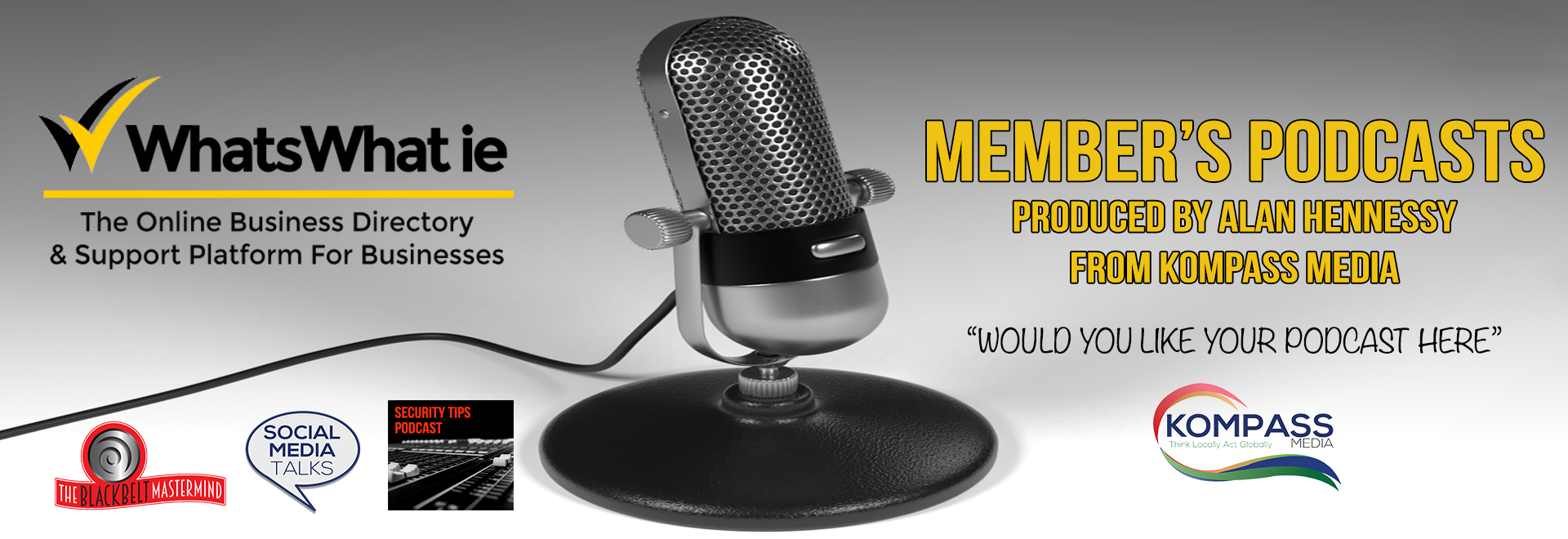 Podcasts by Kompass media