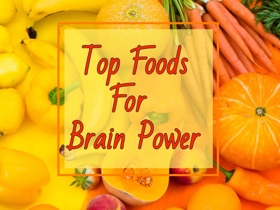 Food for Brain Power