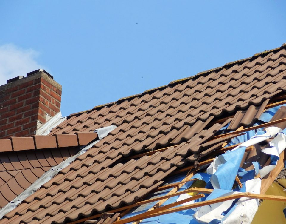 Storm Damaged Roofs