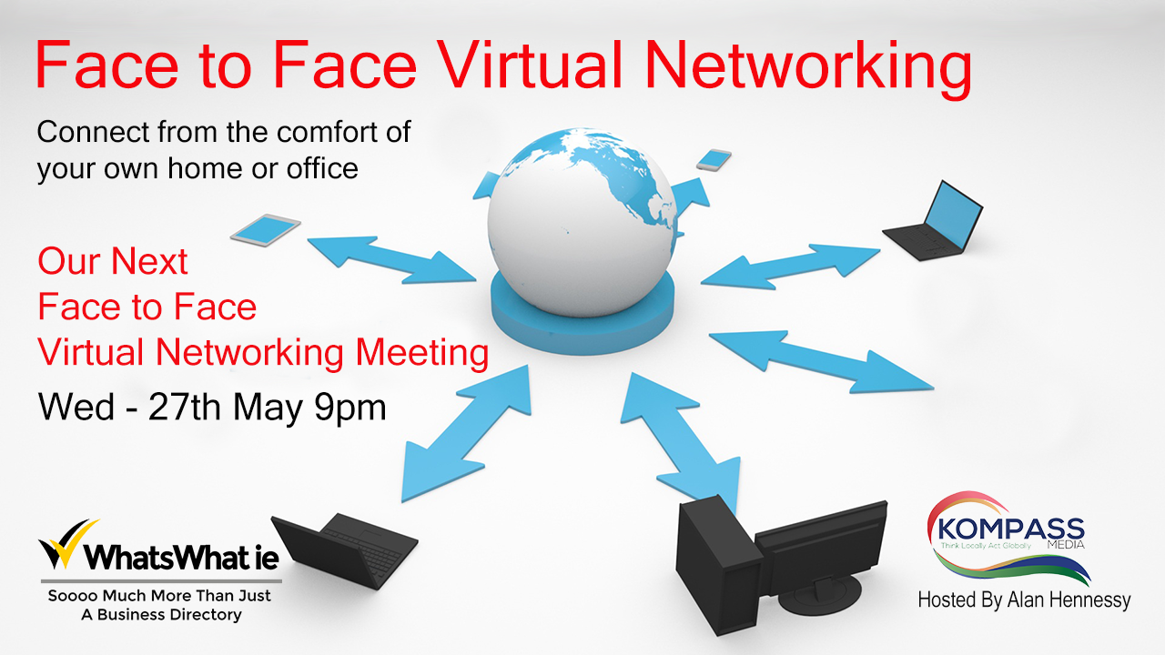 Face to Face Virtual Networking Meeting