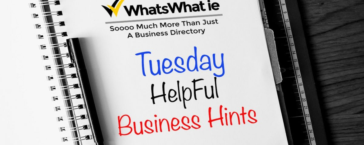 Business Hints for Business Owners
