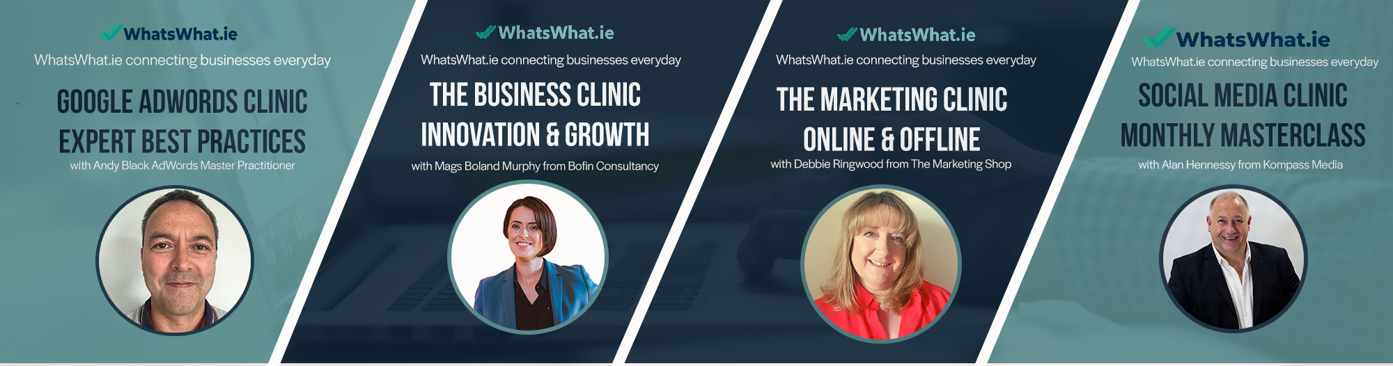 WhatsWhat.ie Monthly Business Clinic's Google Ads - Social Media Marketing - Business Growth