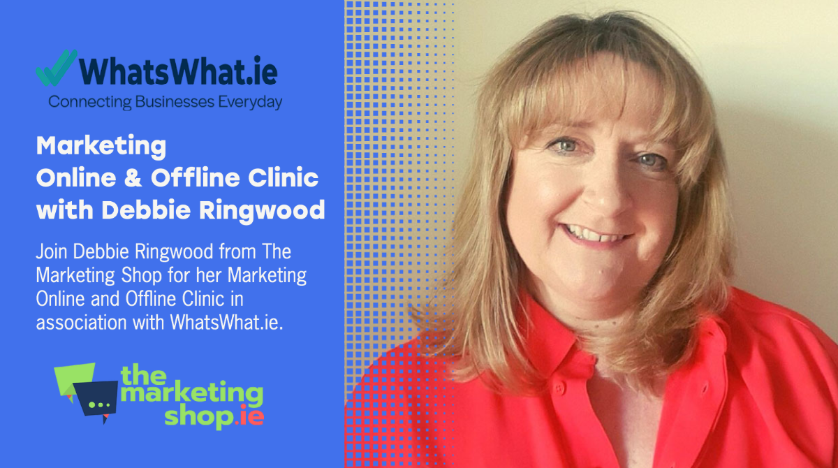 Marketing Online and Offline Clinic with Debbie Ringwood